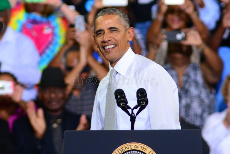 Presidente Barack Obama fotos de stock