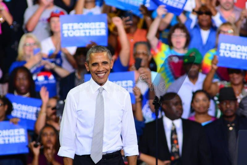 Presidente Barack Obama fotografia de stock royalty free