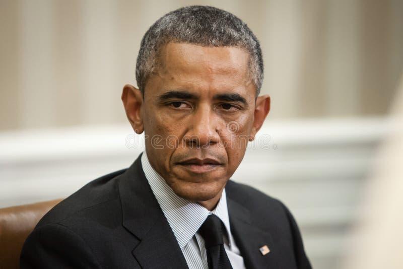 Presidente Barack Obama de Estados Unidos fotografía de archivo libre de regalías