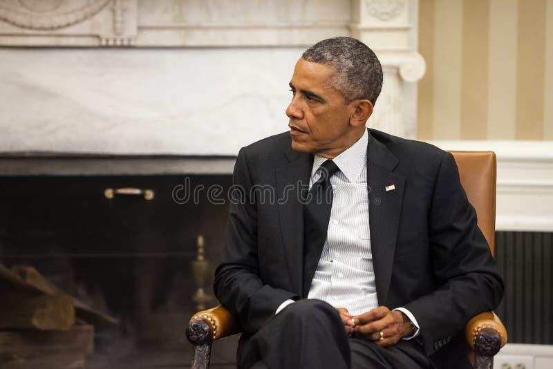 Presidente Barack Obama de Estados Unidos imagens de stock