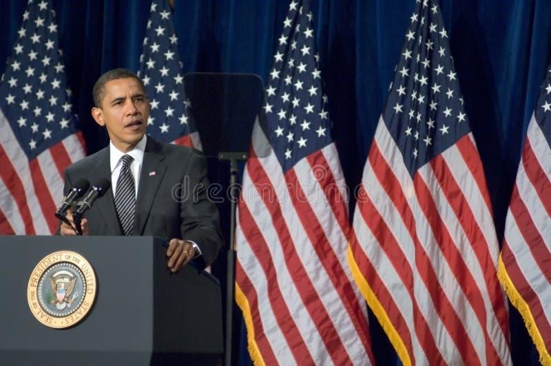 Presidente Barack Obama no Arizona foto de stock