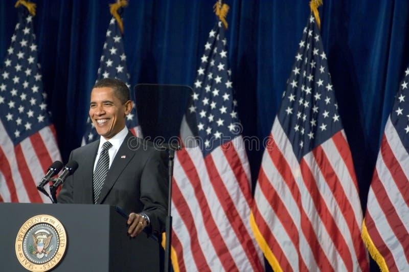 Presidente Barack Obama no Arizona imagem de stock