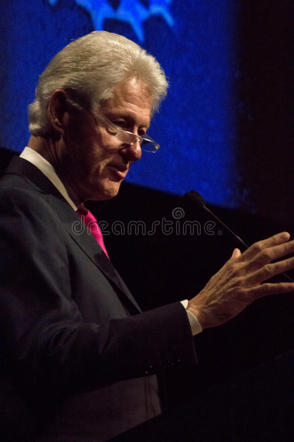 Presidente Bill Clinton de Estados Unidos fotos de archivo