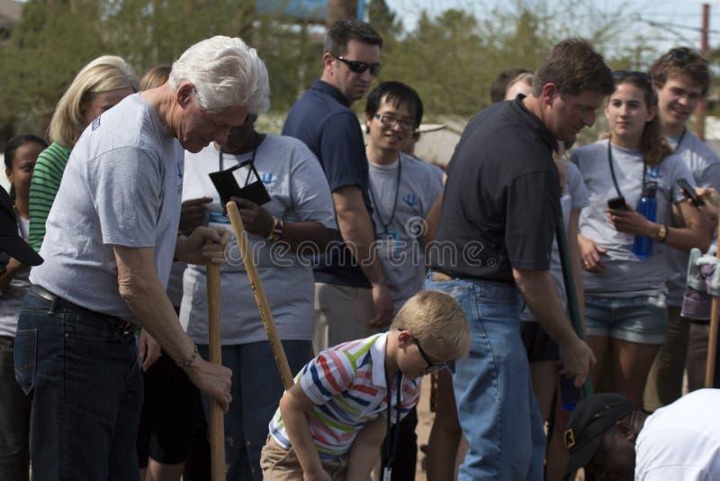 Presidente Bill Clinton do Estados Unidos fotografia de stock royalty free