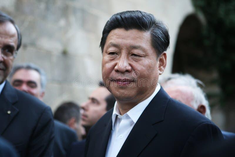 Presidente da República Popular da China Xi Jinping imagens de stock