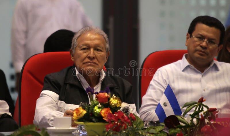 Presidente De El Salvador Participa En Cumbre Sica-nicaragua. Free Public Domain Cc0 Image