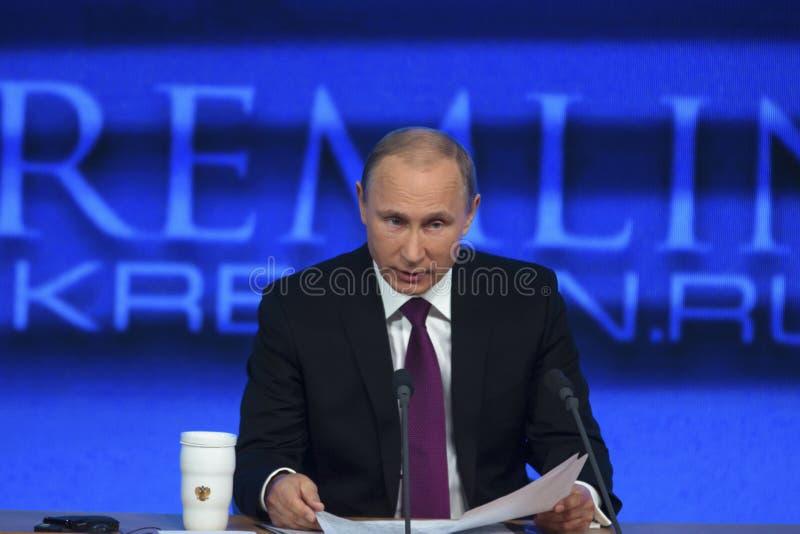 Presidente de la Federación Rusa Vladimir Putin fotografía de archivo libre de regalías
