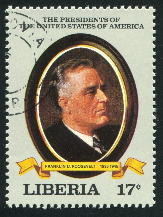 Presidente de los Estados Unidos Roosevelt fotografía de archivo libre de regalías