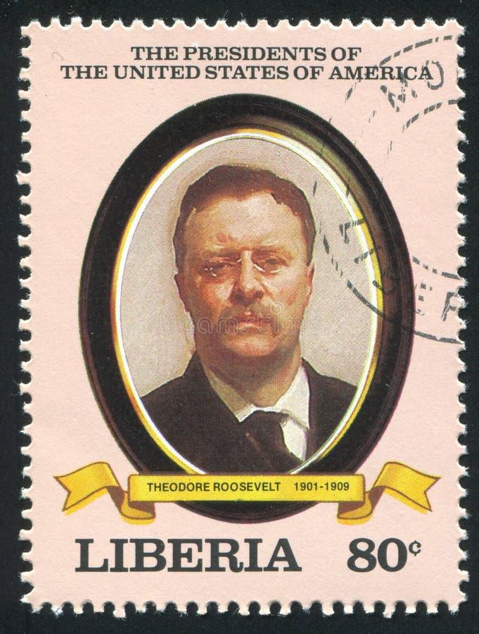 Presidente de los Estados Unidos Theodore Roosevelt fotos de archivo