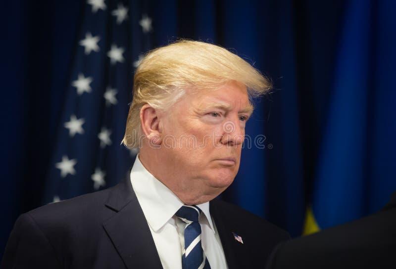 Presidente degli Stati Uniti Donald Trump immagini stock