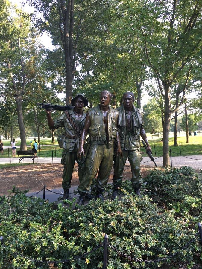 Presidente Einstein della Casa Bianca del monumento commemorativo di notte di Lincoln del Washington DC immagini stock