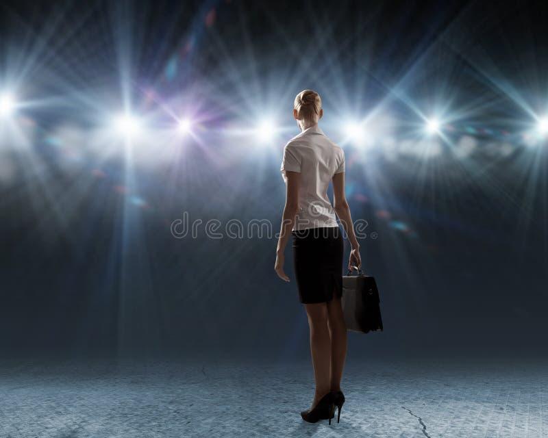 Download Presidente en etapa foto de archivo. Imagen de iluminación - 41901726