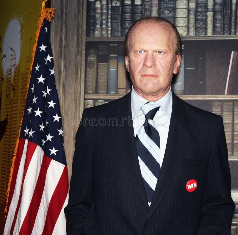 Presidente Gerald R. Ford imagem de stock