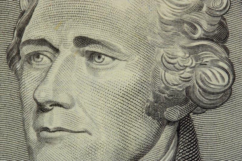 Presidente Hamilton imagenes de archivo