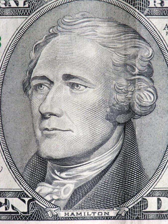 Presidente Hamilton fotografia stock