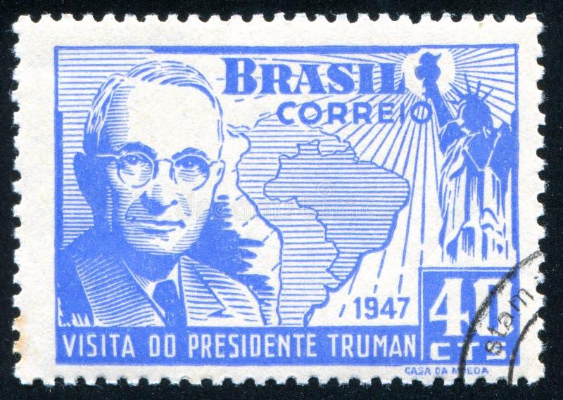 Presidente Harry Truman fotografia stock libera da diritti