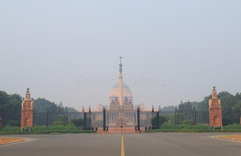 Presidente House Nuova Delhi India fotografia stock