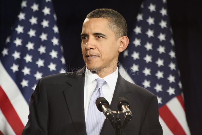 Presidente Obama imagens de stock