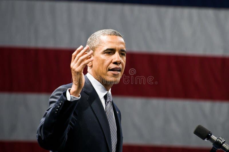 Presidente Obama fotografia de stock