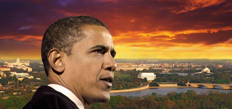 Presidente Obama Foto de archivo editorial