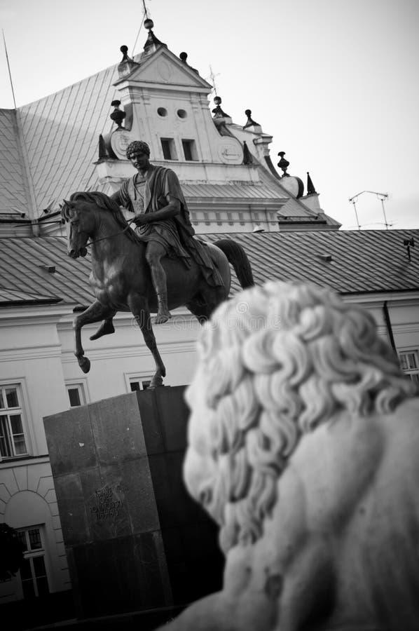 Presidente Palácio em Varsóvia fotografia de stock royalty free