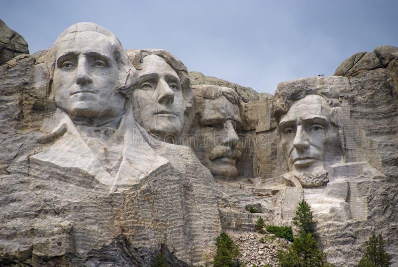 Presidenterna av Mount Rushmore, South Dakota. arkivbilder