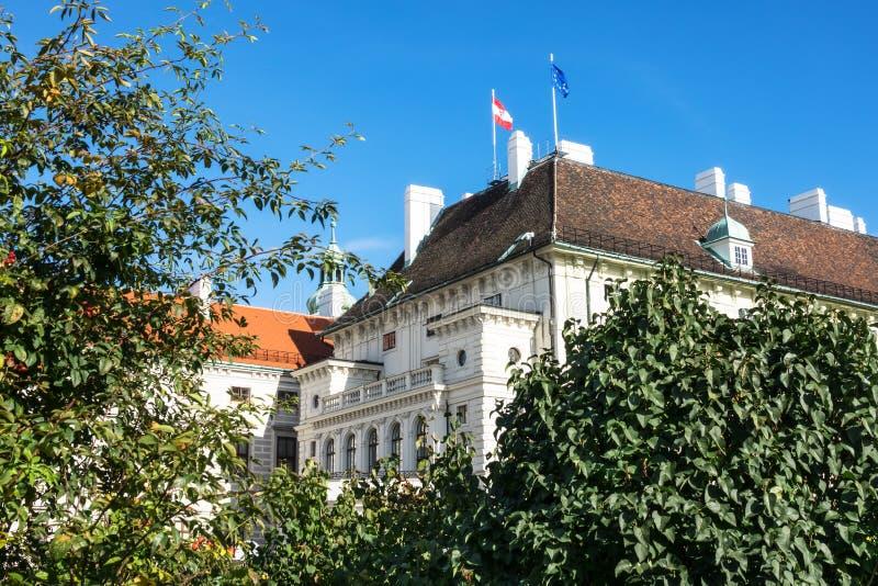 Presidentes Office Austria fotografía de archivo libre de regalías