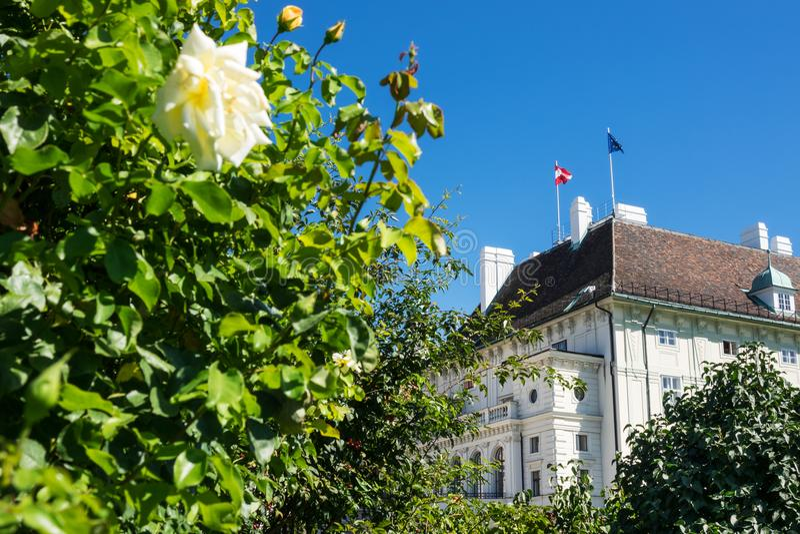 Presidentes Office Austria foto de archivo