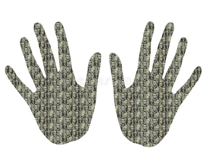 Presidentiële Handen Stock Afbeelding
