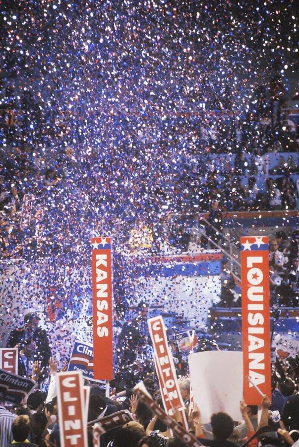 Presidentiële viering royalty-vrije stock foto's