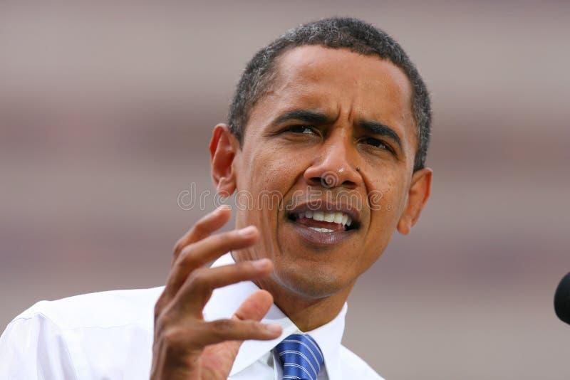 Presidential Candidate, Barack Obama Editorial Photo