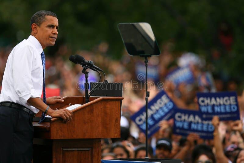 Presidential Candidate, Barack Obama stock photo