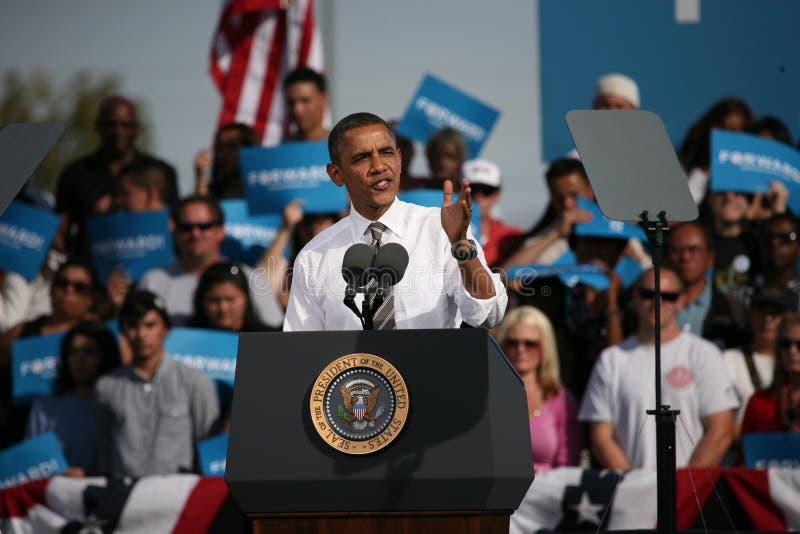 Presidential Candidate Barack Obama Editorial Photo