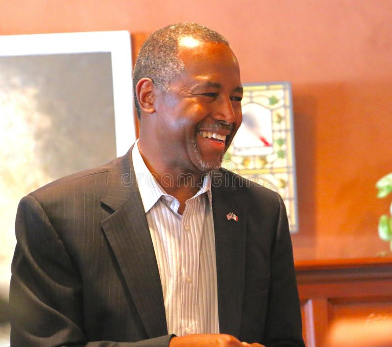 Presidential Candidate Ben Carson royalty free stock photography