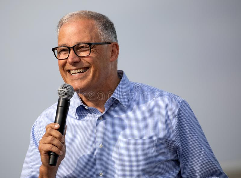 Presidential Candidate Jay Inslee royalty free stock photos
