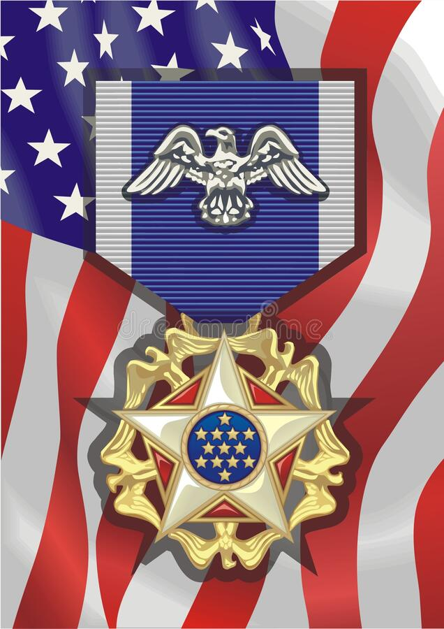 Free Presidential Medal Of Freedom USA Stock Image - 190507401
