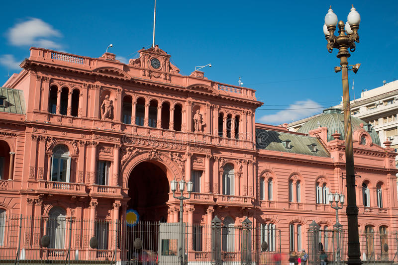 Presidential Palace of Argentina royalty free stock photos