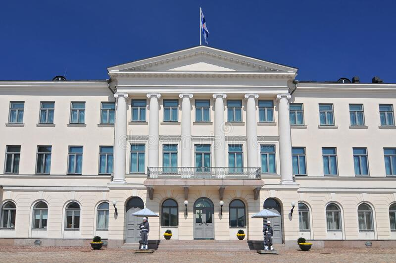 Presidential Palace of Finland, Helsinki royalty free stock image