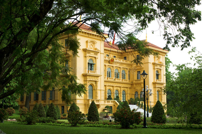 Download Presidential Palace, Hanoi editorial photography. Image of tourism - 21503687