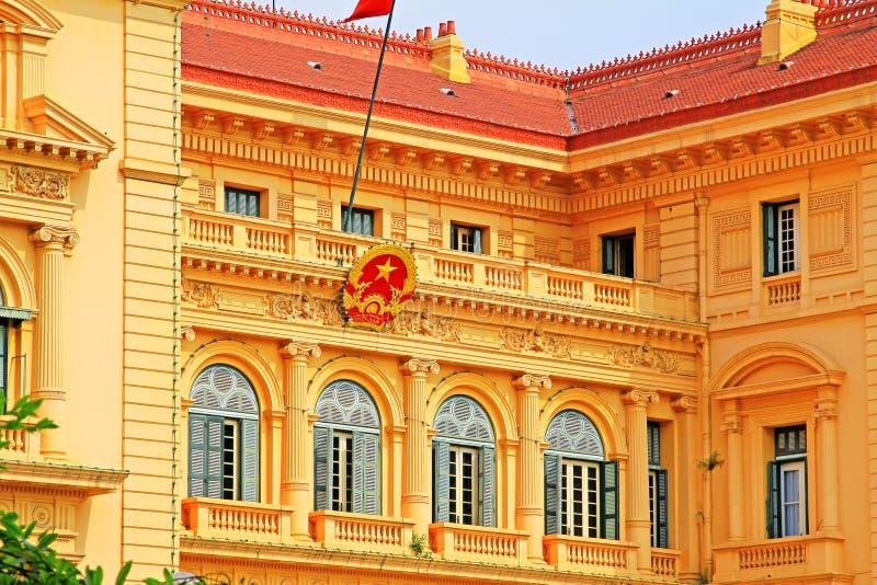 Presidential Palace, Hanoi Vietnam royalty free stock photos