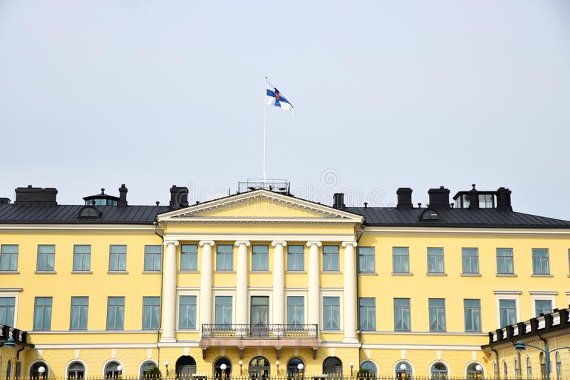 Presidential Palace, Helsinki Finland stock images