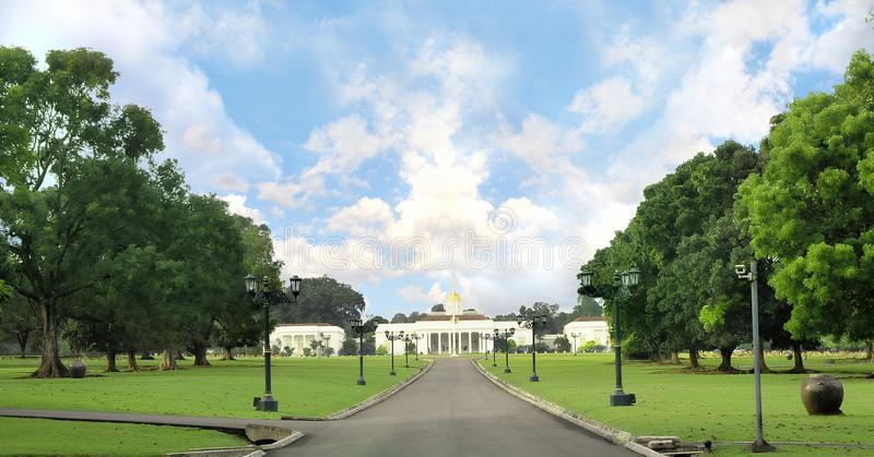 The presidential palace of indonesia, Bogor royalty free stock photography