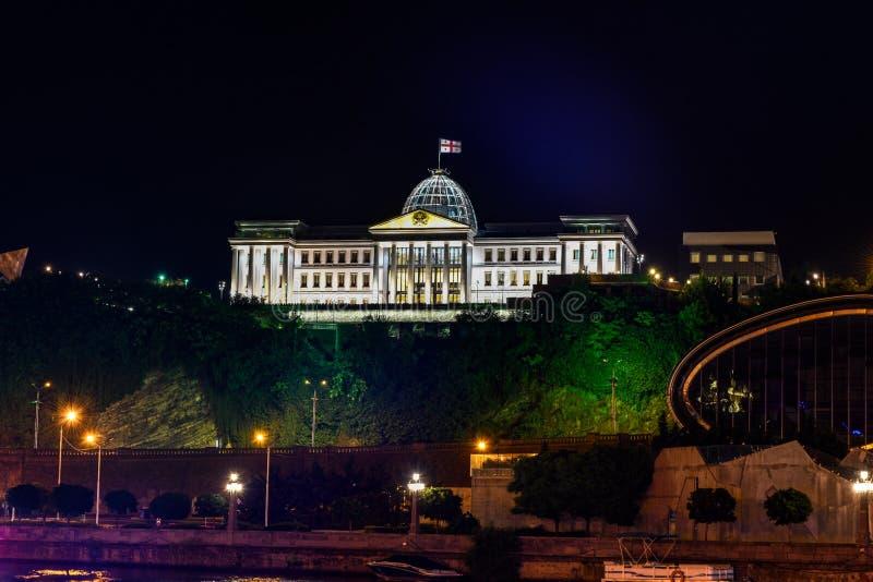 Presidential Palace - Tbilisi, Georgia stock photography