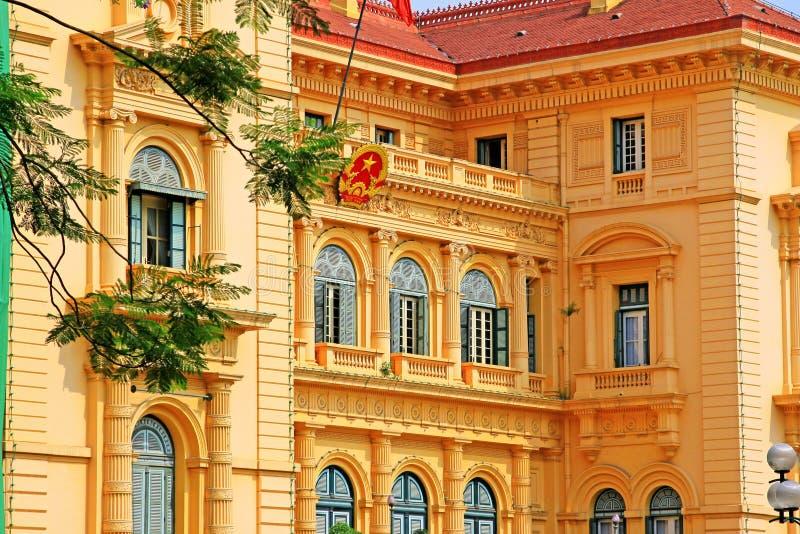 Presidential Palace, Hanoi Vietnam stock images