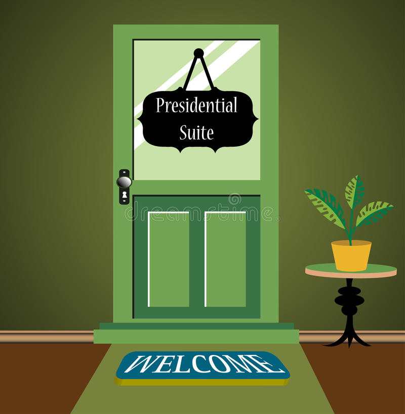 Presidential suite royalty free illustration