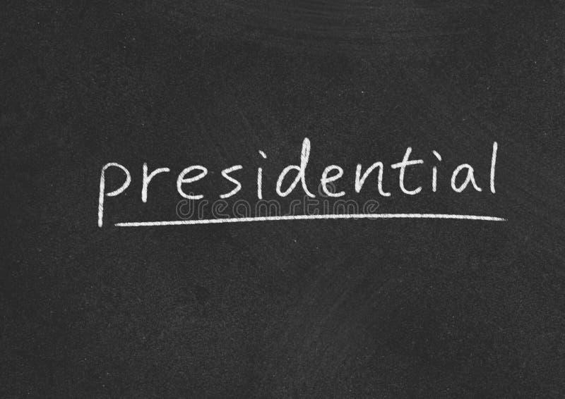 Presidentieel royalty-vrije stock afbeelding