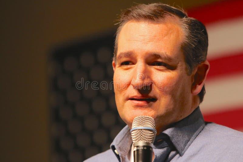 Presidentkandidatsenator Ted Cruz royaltyfri foto