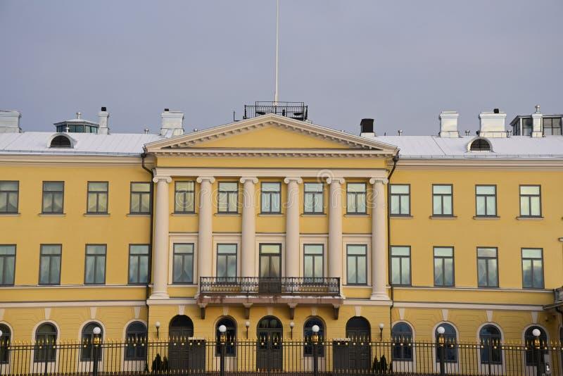 Presidentpalatset Helsingfors arkivbild
