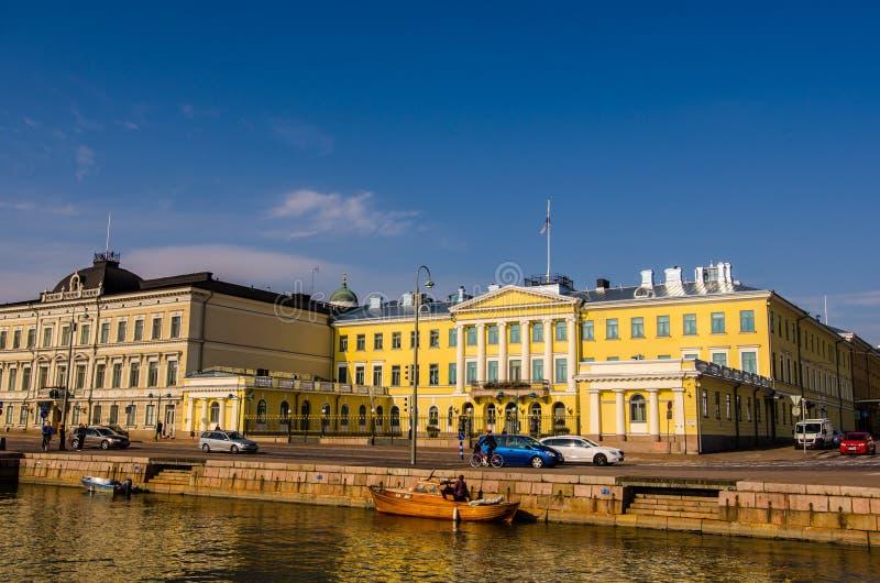 Presidentpalatset Helsingfors arkivfoto