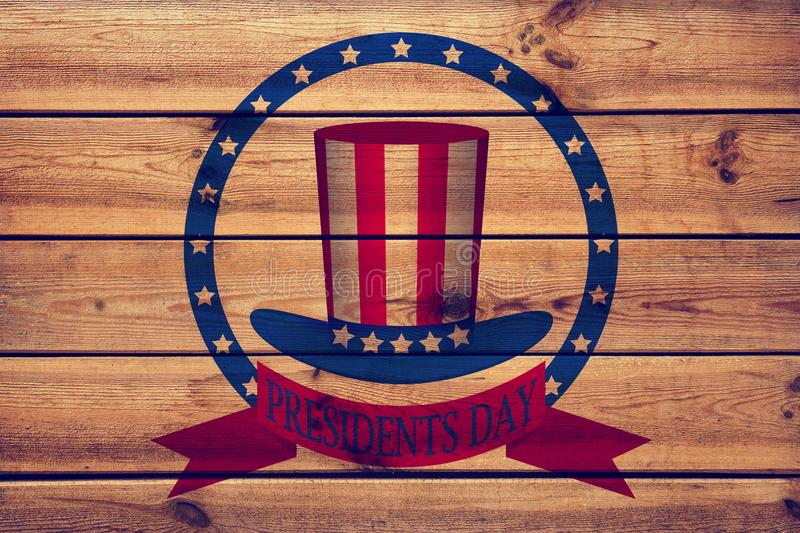 Presidents day background, united states.  royalty free stock photos